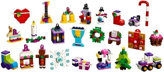 LEGO Friends 41353 Adventní kalendář 2018 dárečky