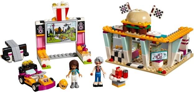 LEGO Friends 41349 Jídelní vůz sestaveno