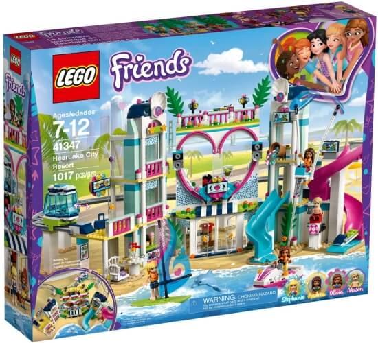 Stavebnice LEGO Resort v městečku Heartlake