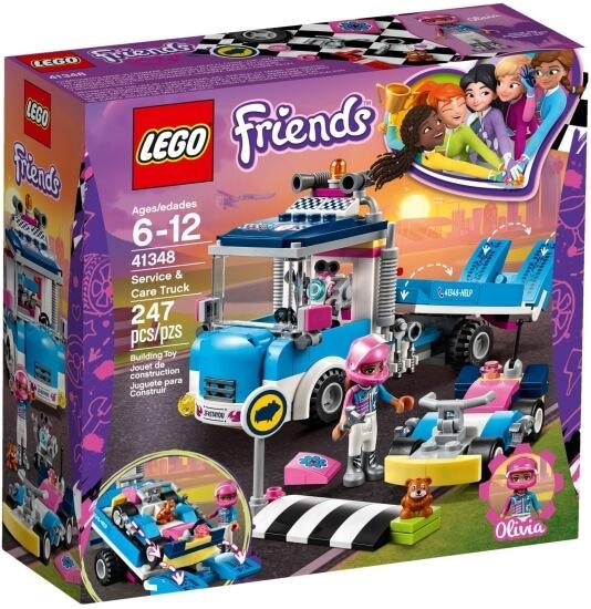 Stavebnice LEGO Servisní vůz