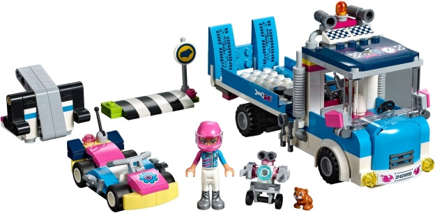 LEGO Friends 41348 Servisní vůz sestaveno