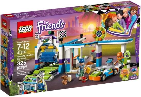 Stavebnice LEGO Automyčka s pohyblivými kartáči