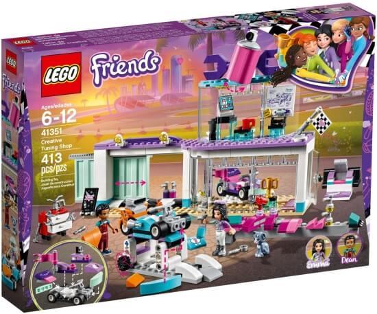 Stavebnice LEGO Tuningová dílna