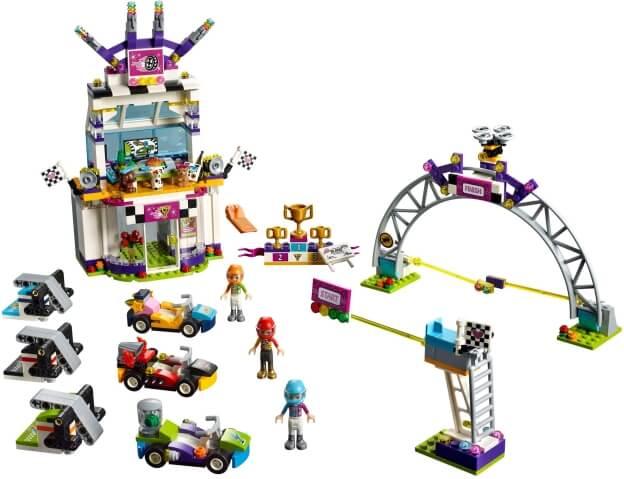LEGO Friends 41352 Velký závod sestaveno