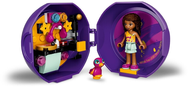 LEGO Friends 853775 Andrea a její DJská výbava sestaveno