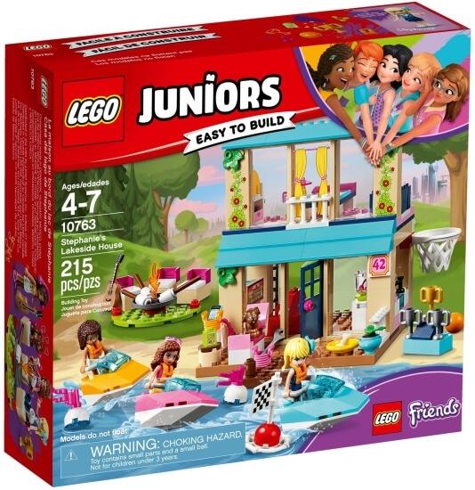 Stavebnice LEGO Stephanie a její dům u jezera
