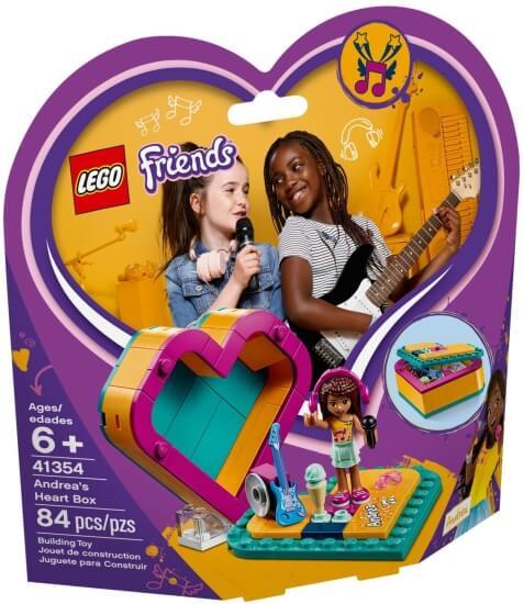 Stavebnice LEGO Andreina srdcová krabička