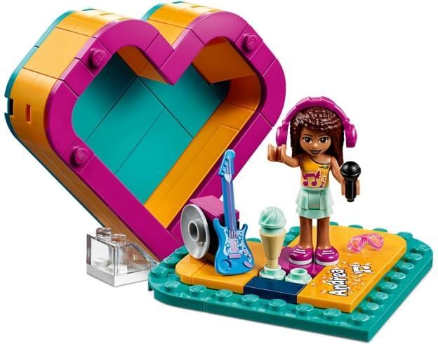 LEGO Friends 41354 Andreina srdcová krabička sestaveno