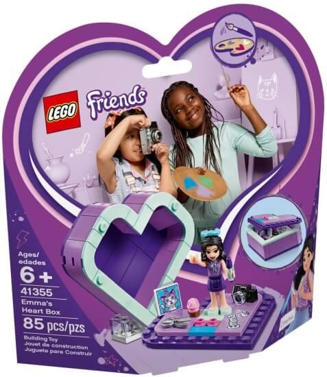 Stavebnice LEGO Emmina srdcová krabička