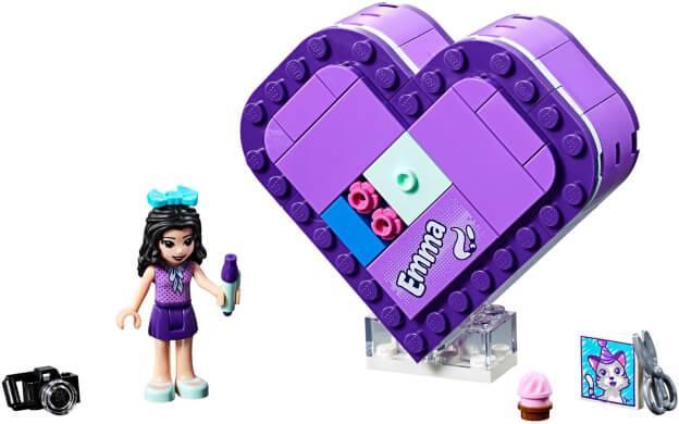 LEGO Friends 41355 Emmina srdcová krabička sestaveno