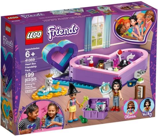 Stavebnice LEGO Balíček srdíčkových krabiček přátelství