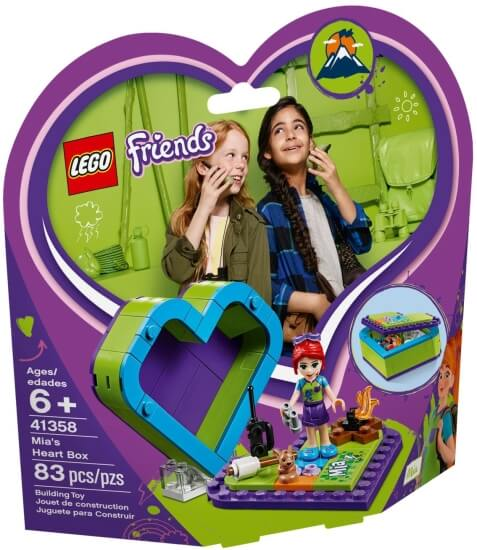 Stavebnice LEGO Miina srdcová krabička