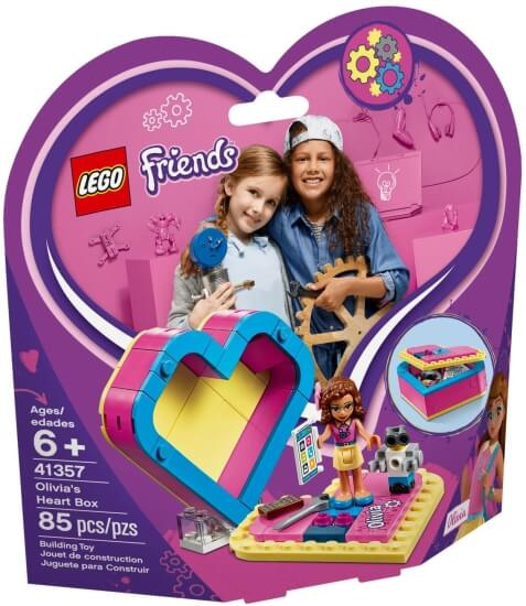 Stavebnice LEGO Oliviina srdcová krabička