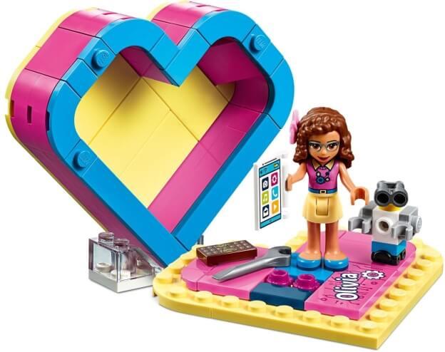 LEGO Friends 41357 Oliviina srdcová krabička sestaveno
