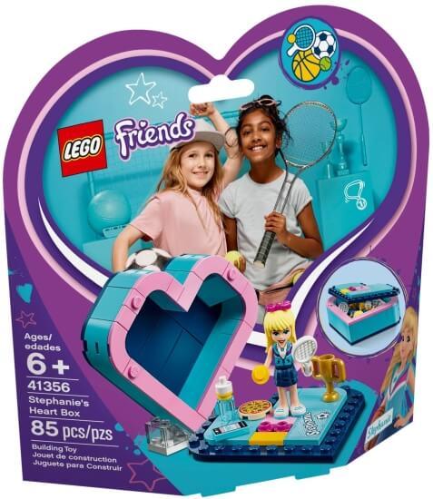 Stavebnice LEGO Stephanina srdcová krabička