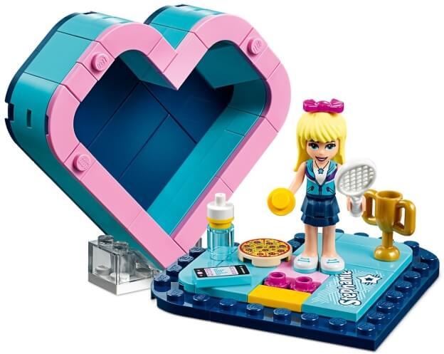 LEGO Friends 41356 Stephanina srdcová krabička sestaveno