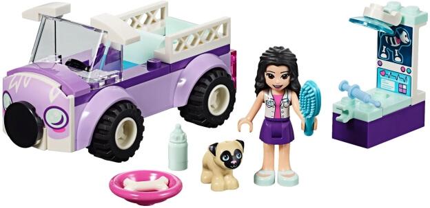 LEGO Friends 41360 Emma a mobilní veterinární klinika sestaveno