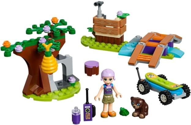 LEGO Friends 41363 Mia a dobrodružství v lese sestaveno