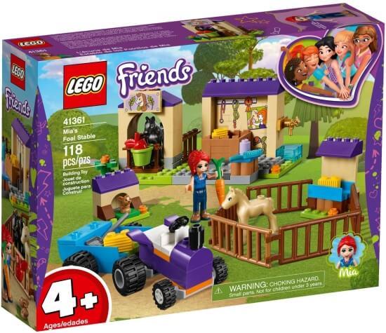 Stavebnice LEGO Mia a stáj pro hříbata