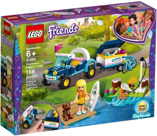 Stavebnice LEGO Stephanie a bugina s přívěsem