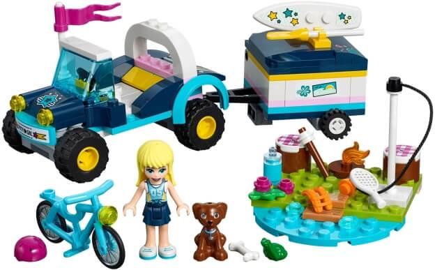 LEGO Friends 41364 Stephanie a bugina s přívěsem sestaveno