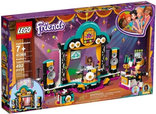 Stavebnice LEGO Andrea a talentová show