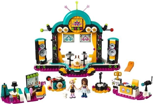 LEGO Friends 41368 Andrea a talentová show sestaveno