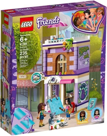 Stavebnice LEGO Emma a umělecké studio