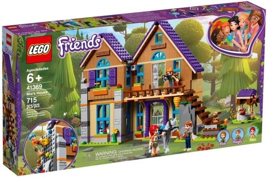 Stavebnice LEGO Mia a její dům
