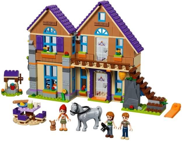 LEGO Friends 41369 Mia a její dům sestaveno