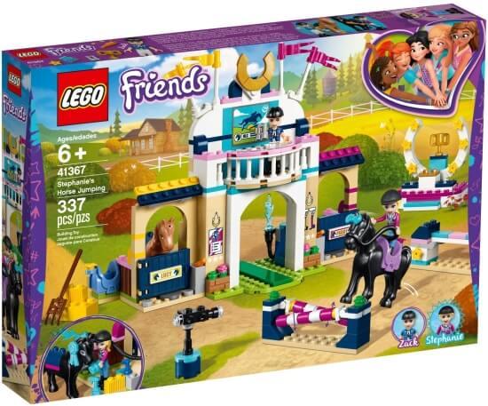 Stavebnice LEGO Stephanie a parkurové skákaní