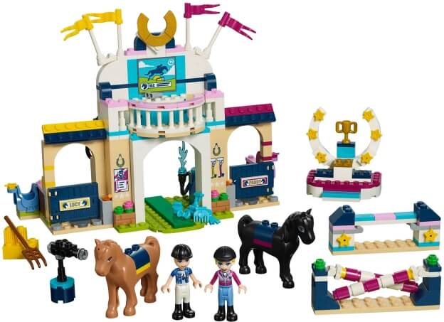 LEGO Friends 41367 Stephanie a parkurové skákaní sestaveno