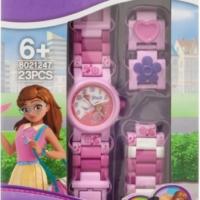 Sestavitelné hodinky s Olivií