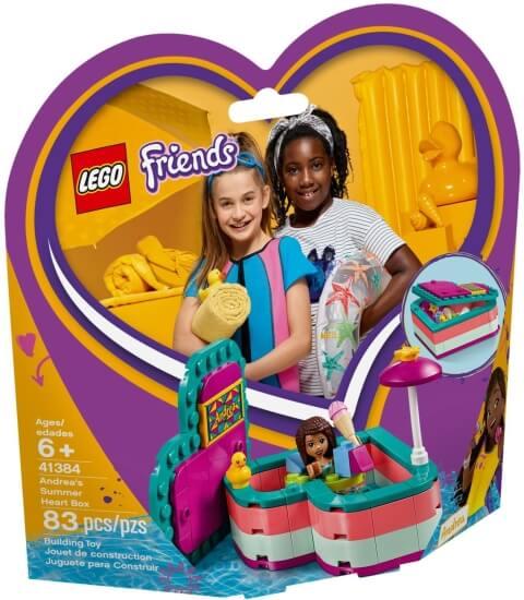 Stavebnice LEGO Andrea a letní srdcová krabička