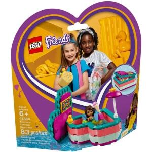 Stavebnice Andrea a letní srdcová krabička