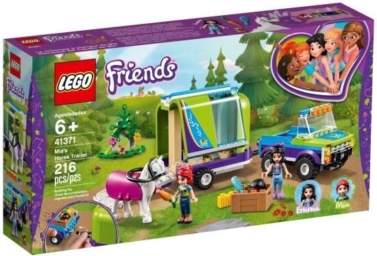 Stavebnice LEGO Mia a přívěs pro koně