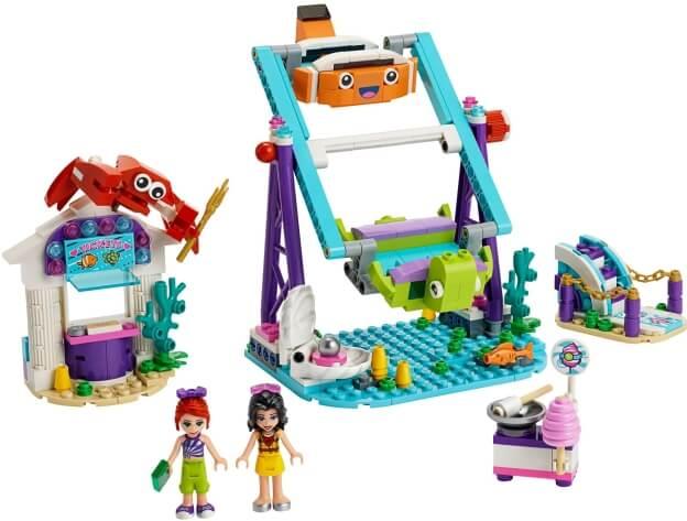 LEGO Friends 41337 Podmořský kolotoč sestaveno