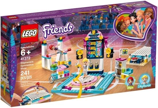 Stavebnice LEGO Stephanie a gymnastické představení