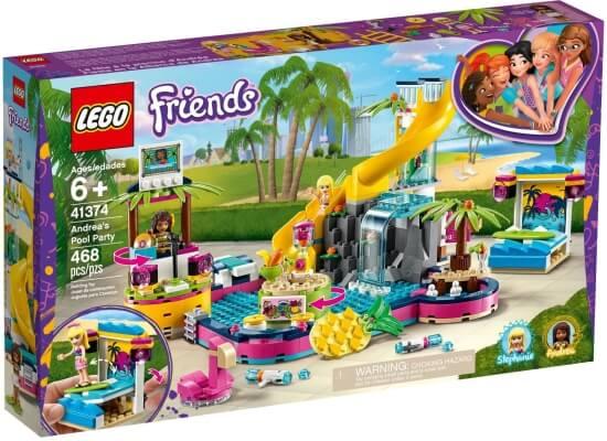 Stavebnice LEGO Andrea a párty u bazénu