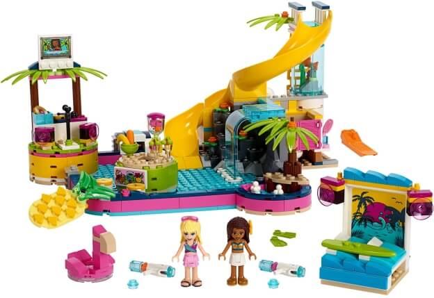 LEGO Friends 41374 Andrea a párty u bazénu sestaveno