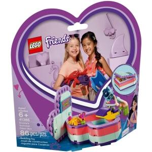 Stavebnice Emma a letní srdcová krabička