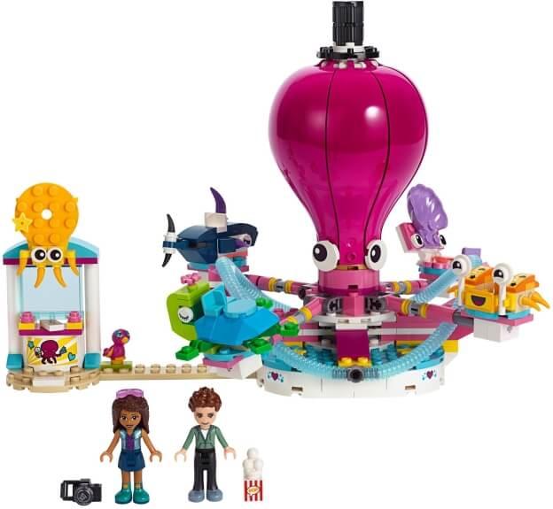LEGO Friends 41373 Kolotoč ve tvaru chobotnice sestaveno