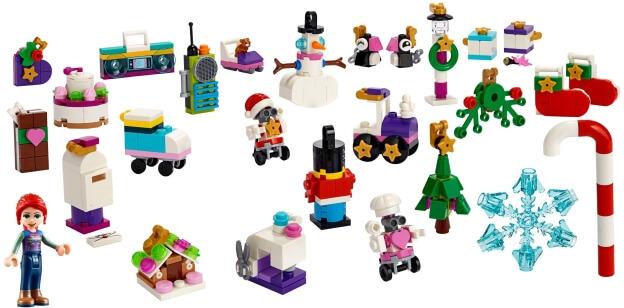LEGO Friends 41382 Adventní kalendář LEGO Friends 2019 sestaveno