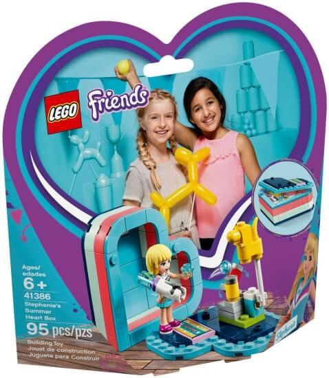 Stavebnice LEGO Stephanie a letní srdcová krabička