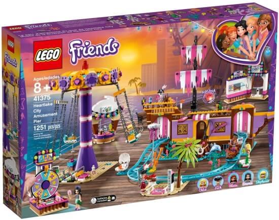 Stavebnice LEGO Zábavný park na molu