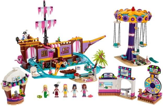 LEGO Friends 41375 Zábavný park na molu sestaveno