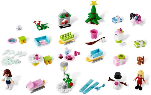 LEGO Friends 3316 Adventní kalendář 2012 dárečky