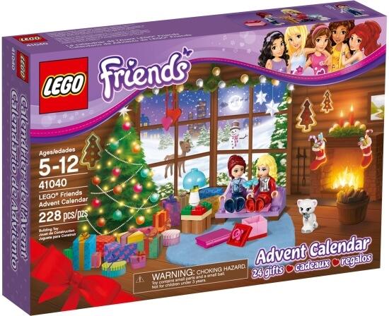 LEGO Friends Adventní kalendář 2014