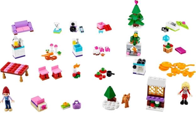 LEGO Friends 41040 Adventní kalendář 2014 dárečky