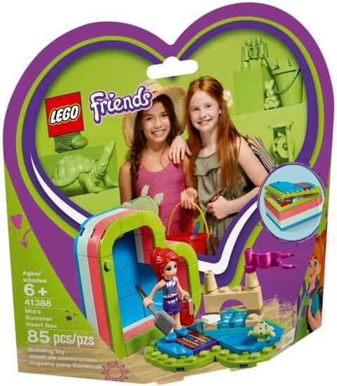 Stavebnice LEGO Mia a letní srdcová krabička